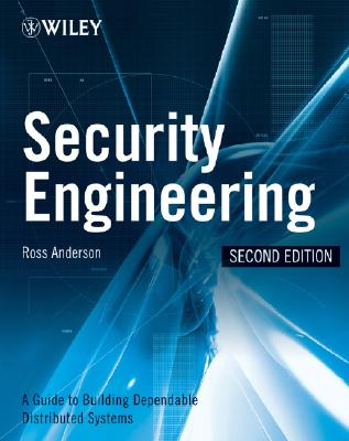 Security Engineering By Anderson, Ross J.